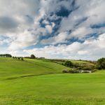 Beautiful fairways at Holywell Bay Golf near Newquay