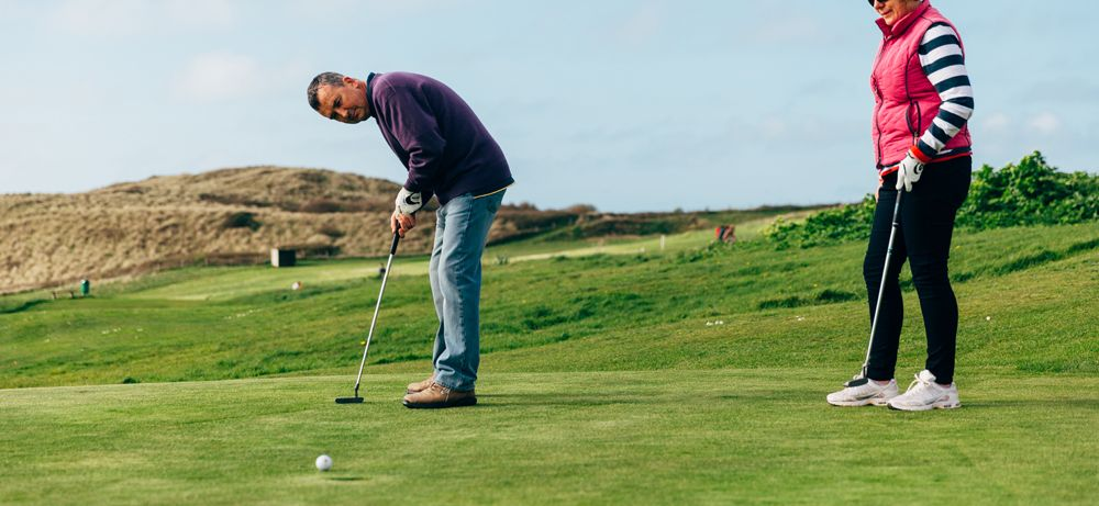 Celebrate Father's Day at Holywell Bay Golf