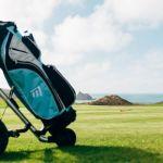 Golf Caddy at Holywell Bay Golf near Newquay