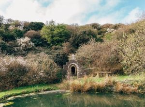 The Holy Well at Trevornick near Newquay