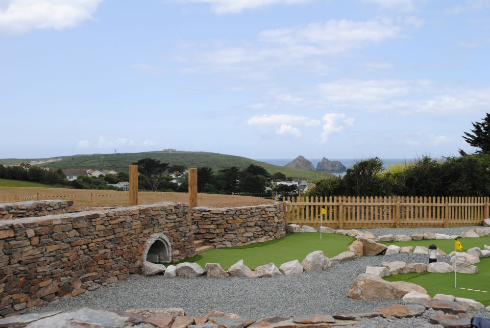 Mini Golf Course at Holywell Bay